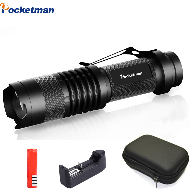 Powerful Led Flashlight Super Bright Adjustable Torch Q5/T6/L2 Linterna Led Lanterna Zoomable  Fishing Camping Bicycle Light