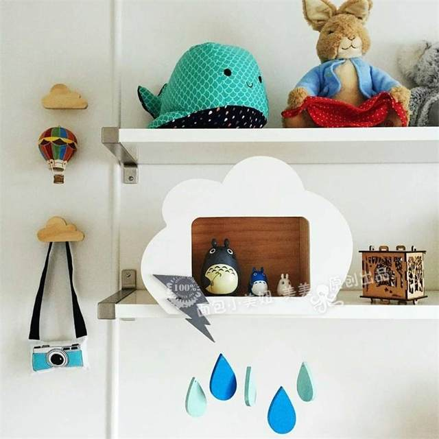 Online-Shop Wolken dekoration für kidsroom niedlichen ...