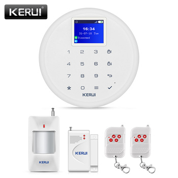 Kerui G17 Wireless GSM Short Message Home Burglar Alarm System Support Language Conversion Home Safety Protection Kit