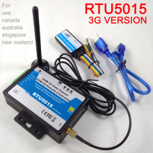 Free shipping 3G version RTU5015 GSM Gate Opener Door Operator with SMS Remote Control Alarm