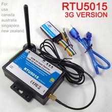 Frete grátis 3G versão RTU5015 Alarme GSM Portão Opener Operador Porta com SMS Controle Remoto
