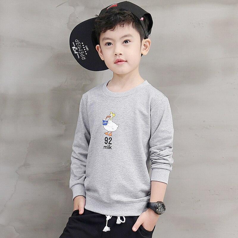 Pioneer Kids boys clothing Tshirts cartoon Print Long Sleeve Winter T-Shirts for Height 110-160cm Children pokemon go t shirt