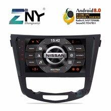 10,1 «Android 8,0 автомобильный Радио мультимедийный стерео для Nissan Qashqai X-Trail 2014-2017 опционально DSP/Carplay/DAB +/64 Гб rom/Parrot BT