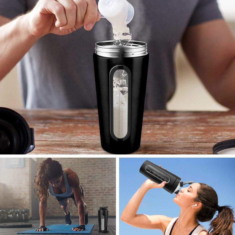shaker bottle black use
