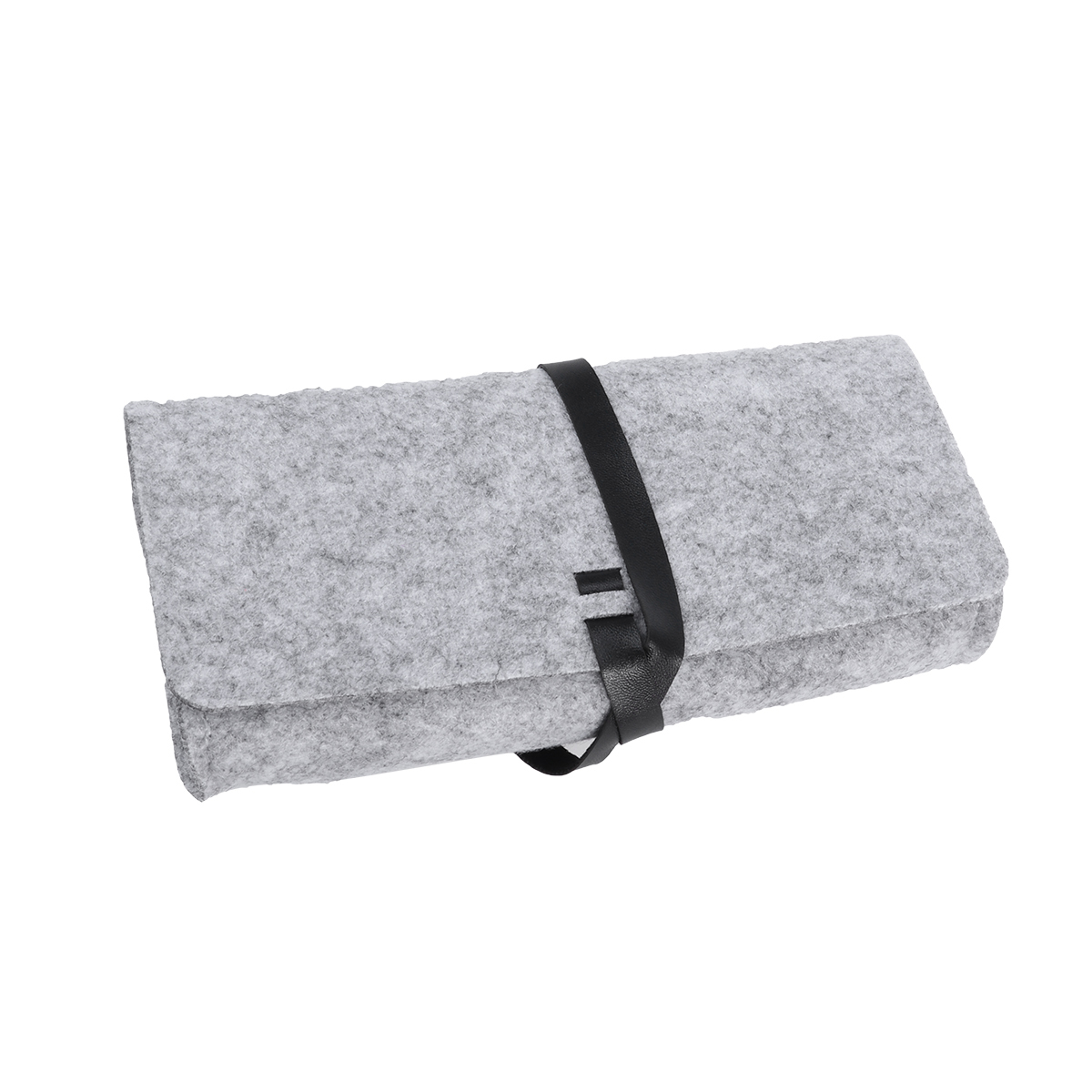Aggressive Retro Fashion Glasses Bag Portable Felt Soft Eyeglasses Sunglasses Protective Roll Up Case Pouch
