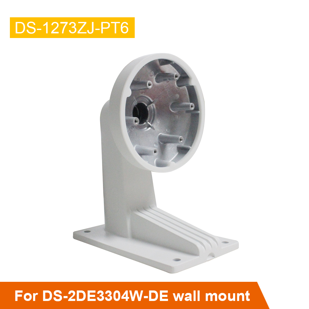 High Quality Wall Mount Bracket DS-1273ZJ-PT6 For CCTV Camera Support for PTZ Dome Camera DS-2DE3304W-DE ds 1602zj box pole ptz camera vertical pole mount bracket with junction box