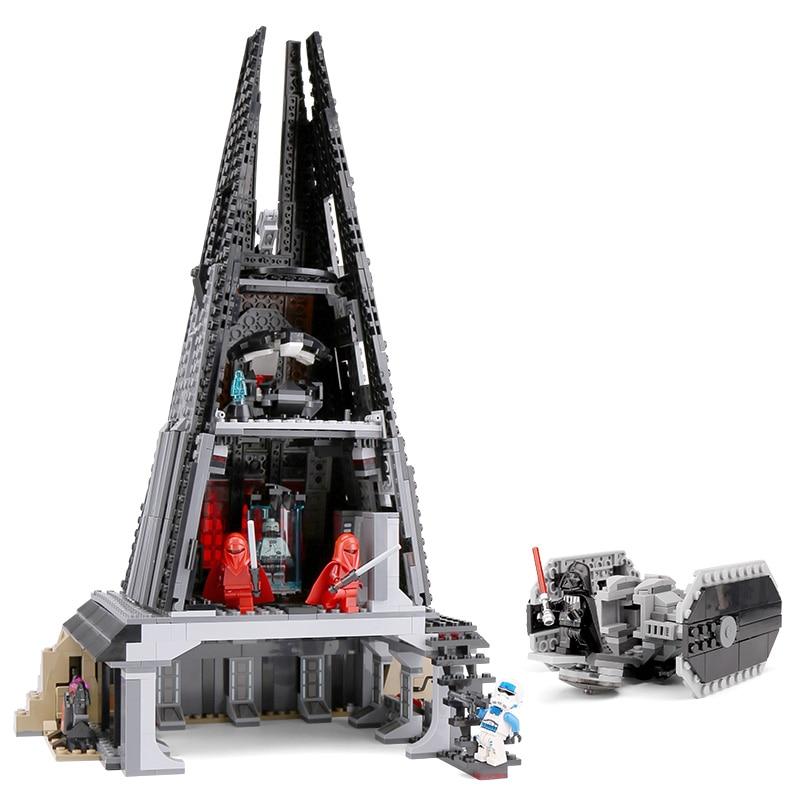 actual Lepin 05152 Star Compatible Legoinglys 75251 war Darth Vader`s Castle Set Building Blocks Bricks Assembled Christmas gift
