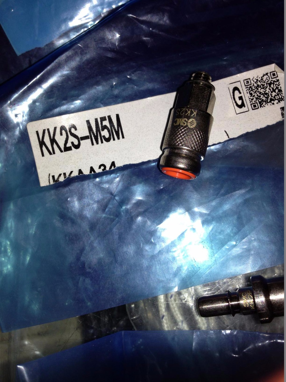 BRAND NEW JAPAN SMC GENUINE COUPLER KK2S-M5M brand new japan smc genuine shock absorber rb1411