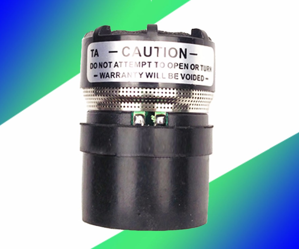2 PCS Microphone Remplacement Cartouche Adapte pour shure filaire/Sans Fil SM-58 type mic 58a