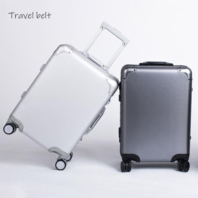 100% Aluminum-magnesium alloy high quality Rolling Luggage Spinner Men brand High grade Travel Bags Women Suitcase Wheels100% Aluminum-magnesium alloy high quality Rolling Luggage Spinner Men brand High grade Travel Bags Women Suitcase Wheels