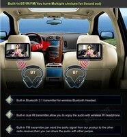 RoverOne 2 шт. X 10,1 дюймов Android 6,0 машина, автомобиль Pad подголовник TFT ЖК монитор заднего сиденья плеер Seatback entachment система
