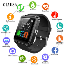 Купить с кэшбэком Bluetooth u8 Smart Watch android MTK smartwatchs for Samsung S4/Note 2/Note3 HTC xiaomi for Android Phone PK U80 GT08 DZ09 A1