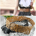 Hot Fashion 6 Colors Women's Lady Tie Belt Wide Hollow Buckle Waist band Waistband Waist Belt Cai0406