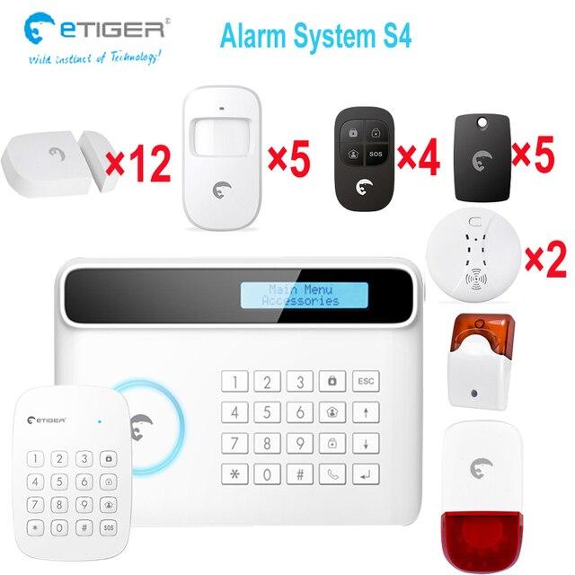 Superior New Wireless/wired Italian Language Landline GSM Sim Card Home Security Burglar  Alarm System Auto