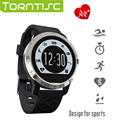 Torntisc F69 Outdoor Sports Smart Watch IP68 Waterproof Support Call SMS Reminder Pedometer Heart rate monitor for Android IOS