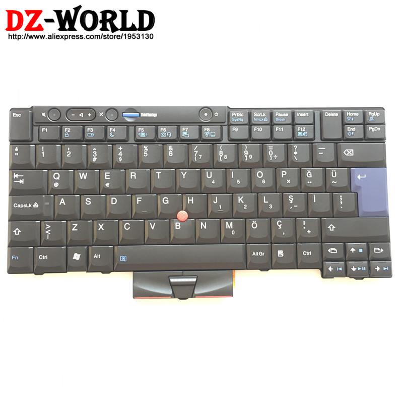 New/Orig TR Turkish Keyboard for Thinkpad T400S T410S T410Si T420S T420Si T410 T410i T420 T420i 45N2239 45N2169 45N2099 45N2204-in Replacement Keyboards from Computer & Office    1