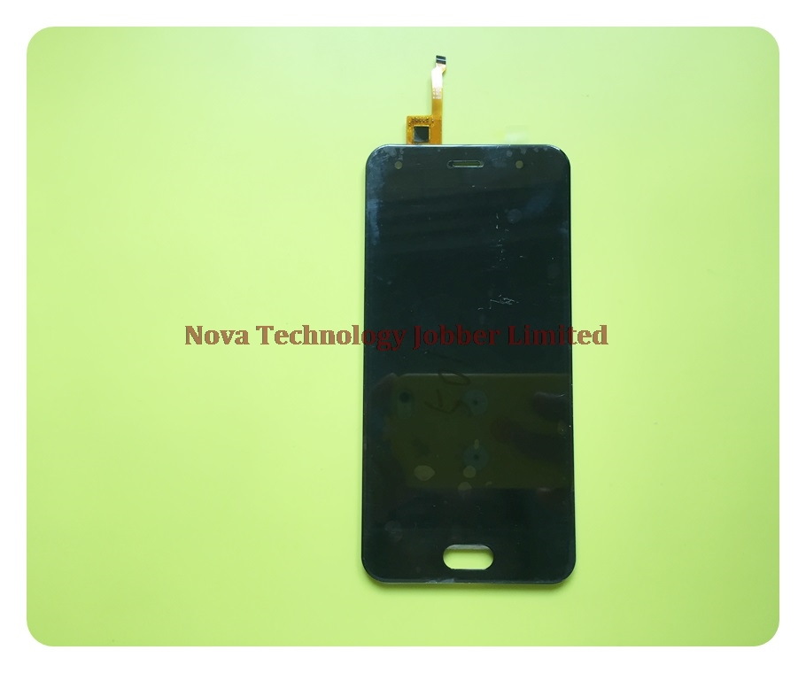 Wyieno BQ5012L Digitizer Panel Replacement Parts For BQ 5012L BQ-5012L Rich Touch + LCD Display Screen Assembly + Tracking