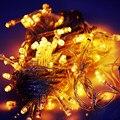 String Light 100 LED 10M Christmas/Wedding/Party Decoration Lights AC 110V 220V outdoor Waterproof led lamp 9 Colors