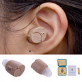 Portable Listening Mini Digital Low Noise Hearing Aid Ear Sound Amplifier In the Ear Tone Volume Adjustable Tone Ear Care