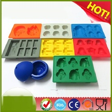NEW  Ice Tray Silicone Mold Ice Cube Ice Cream Makers Chocolate Fondant Mould ss1050