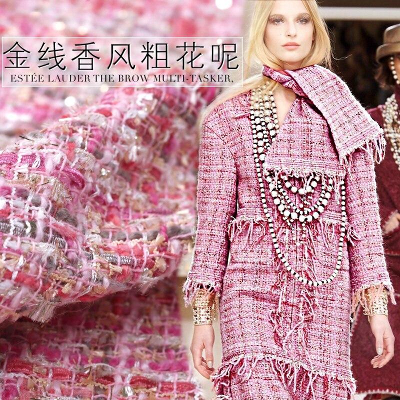Linton haute qualité fil tricoté tweed tissu width150cm 360 grammes par mètre