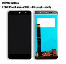 5.2 Polegada Para Wileyfox 2X Display LCD de Toque de Vidro Sensor de Montagem Para Swift Swift 2X2 X
