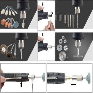 Image 5 - دريميل ستايل 180 واط حفارة متعددة الوظائف الروتاري مثقاب كهربائي صغير ماكينة الطحن النقش طاحونة لتقوم بها بنفسك أدوات كهربائية مبتكرة