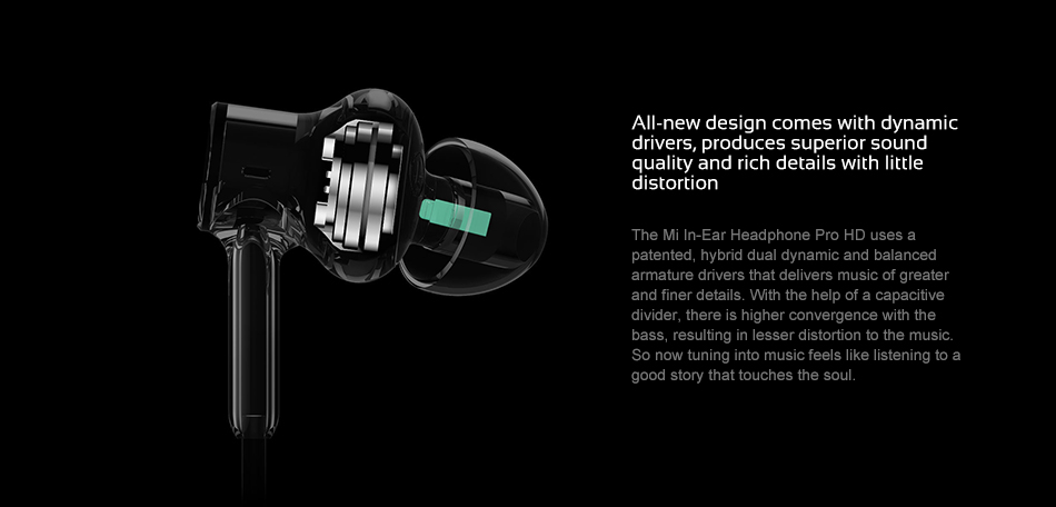 Wired Control Original Xiaomi Mi Headphones Pro HD 9