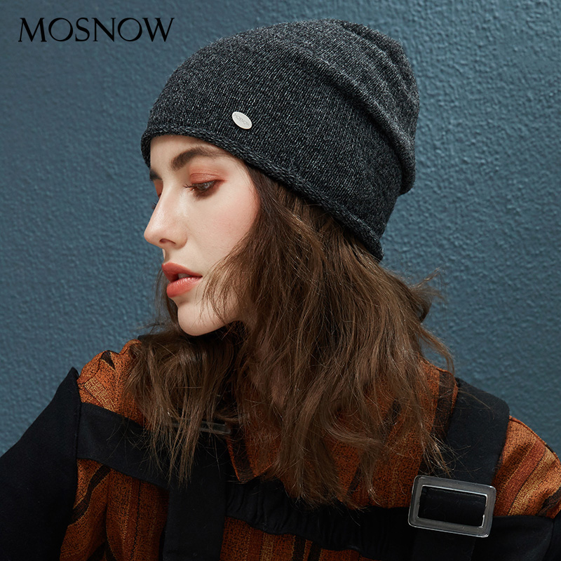 Spring Autumn Hats For Women Knitted Wool   Beanies   Hat 2018 New Fashion Female Hat Slouchy   Skullies     Beanie   For Girls Dropshipping