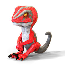 6 Colors Interactive toys Baby Fingertip Dinosaur Smart Touch Induction electronic Pet toys Puppet dinosaur robot for Kids(China)