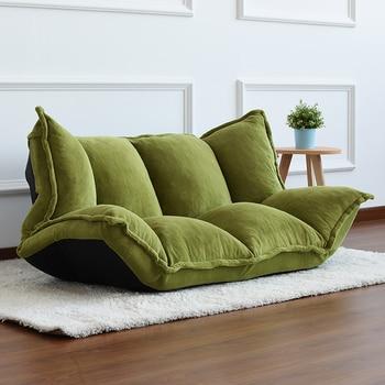 Floor Furniture Reclining Japanese Futon Sofa  1