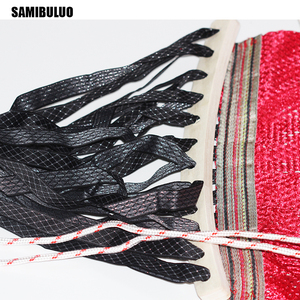 Image 5 - SAMIBULUO Camping Rural Style For Adult Portable Single Person Outdoor Travel Furniture Ice Silk Outdoor Hammock