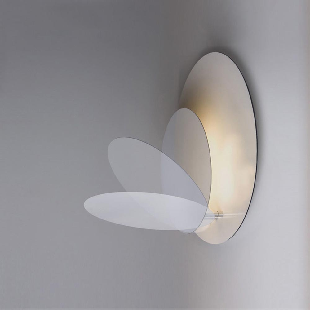 Modern Nordic Eclipse LED Wall Sconce Light Home Corridor Porch Bedroom Bedside Hanging Wall Lamp Light Fixtures Wall Decor Art