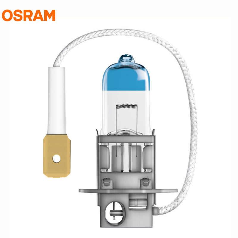 OSRAM H3 12V 55W New Night Breaker Laser Next Generation Auto Halogen Headlight Fog Light Bulbs +150 Brighter 64151NL, 2X