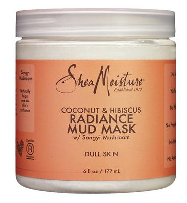 SheaMoisture Coconut Hibiscus Mud Mask 6 oz dr sea hair mask mud