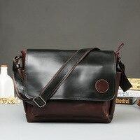 Crazy Horse Leather Fashionable Men S Bag Shoulder Bag Messenger Bag Casual Men S Bag Wholesale