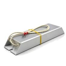 Resistencia de freno de la cáscara del convertidor de frecuencia de aluminio en forma de escalera 500W