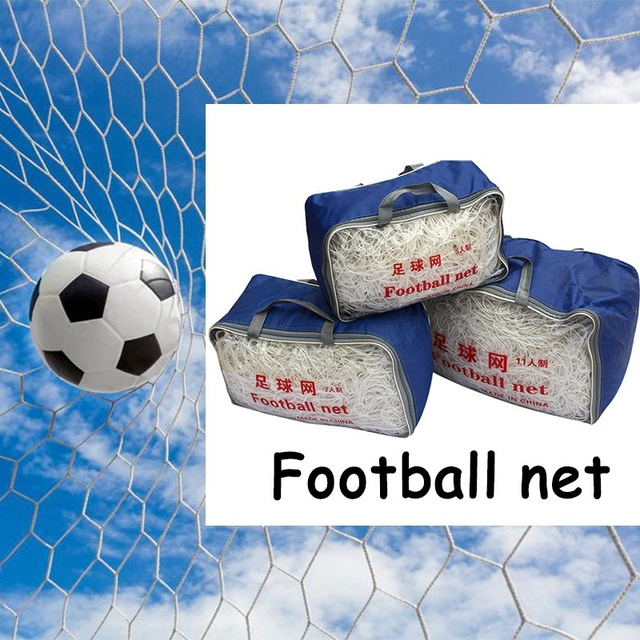 Outdoor Football Net for Soccer Goal Sports Training Nets Mesh for Gates 2018 World Cup Russia bola de futsal