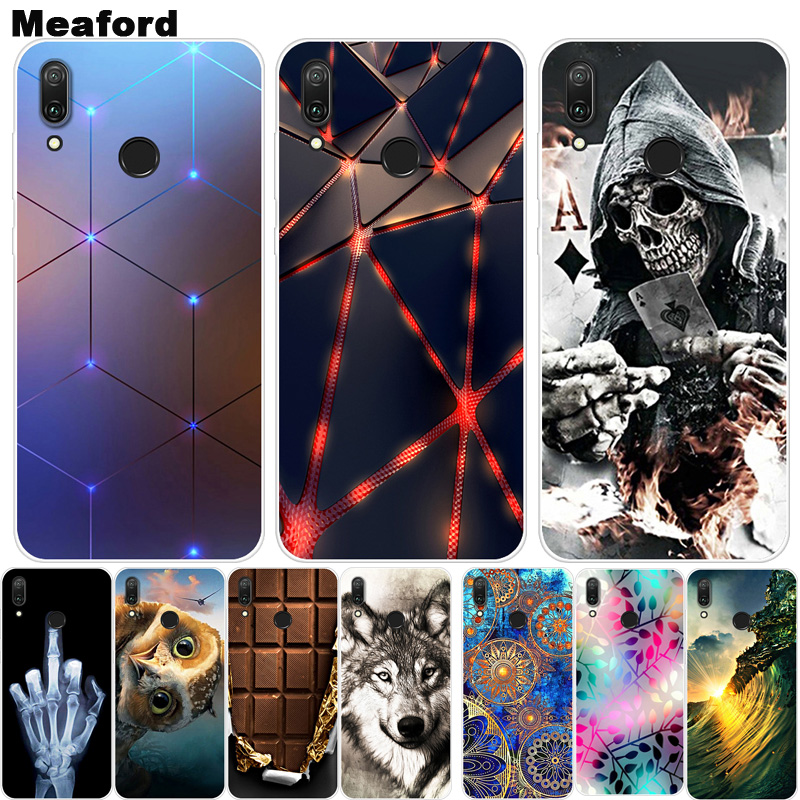 For Coque <font><b>Huawei</b></font> <font><b>Y7</b></font> <font><b>2019</b></font> <font><b>Case</b></font> Phone Cover Soft Silicone Printing Back <font><b>Case</b></font> Fundas For <font><b>Huawei</b></font> <font><b>Y7</b></font> <font><b>2019</b></font> Y 7 <font><b>Y7</b></font> Pro <font><b>2019</b></font> Cover TPU image