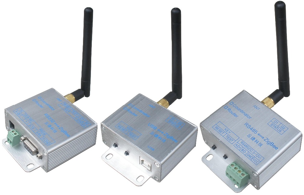 RS485 Turn ZigBee Wireless Module Automatic Networking CC2530 PA 2007 Agreement Over Long Distances