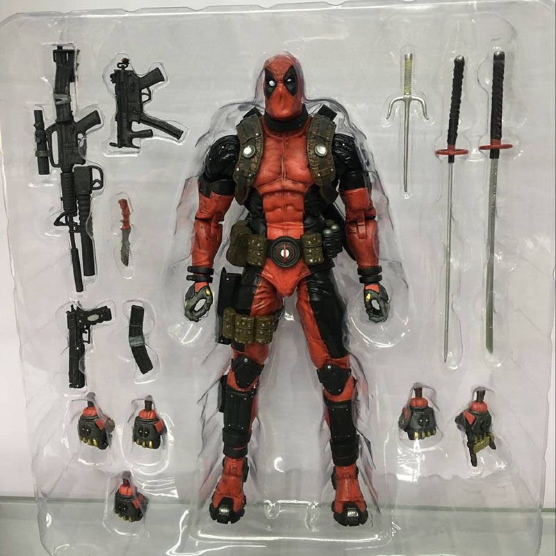 EPIC Marvel Deadpool Super Poseable Ultimate Collectible Action Figure  (5)