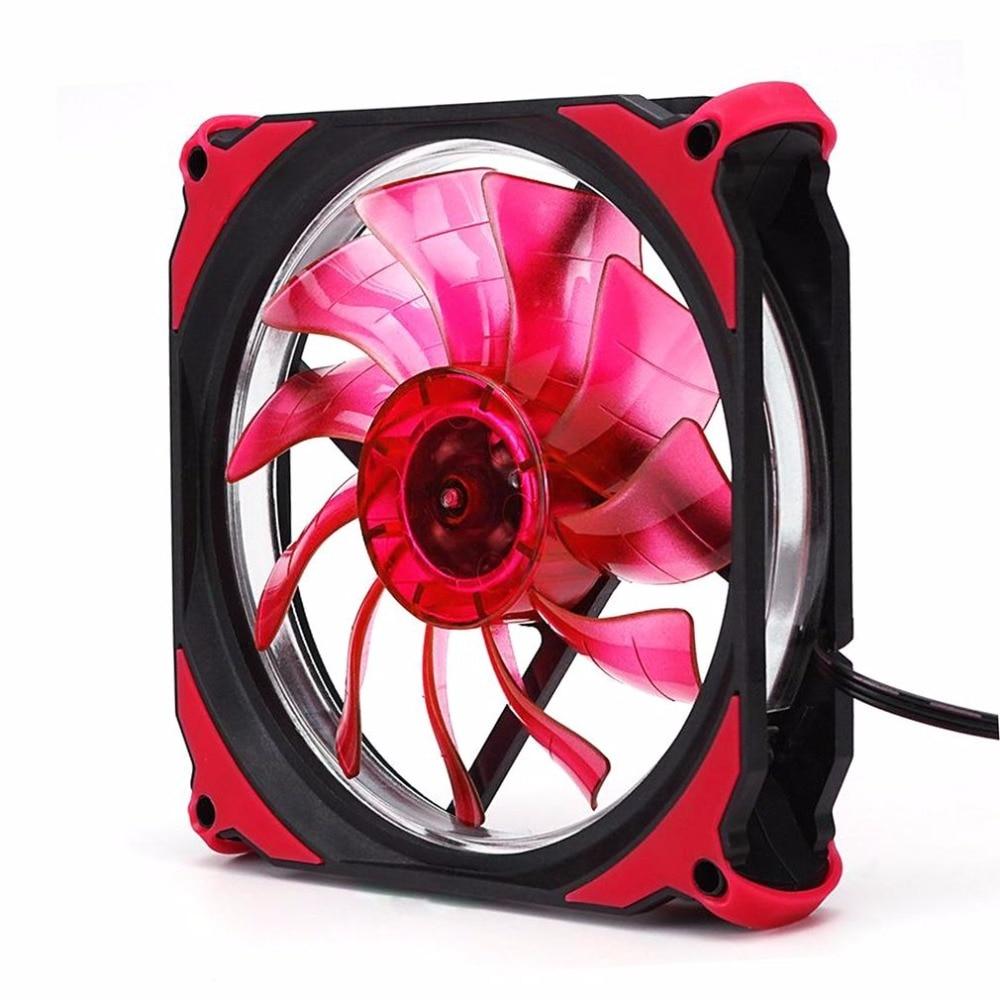 120mm LED Silent Fan PC Computer Chassis Fan Case Heatsink Cooler Cooling Fan for asus u46e heatsink cooling fan cooler