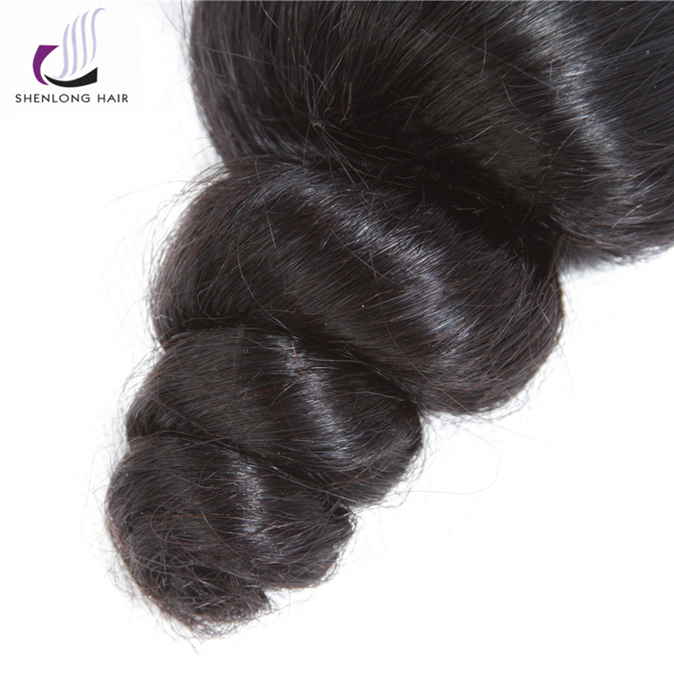 Shenlong Hair Loose Wave Peruvian Non Remy 8 26 Inch Human Hair