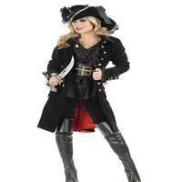 Women Pirate Costume Halloween Party Fancy Dress 6 piece women halloween apparel sexy pirate cosplay costume w1318