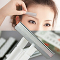 10pc/lot Stainless Steel Eyebrow Trimmer Razor Blade Women Eye Brow Hair Remover Makeup Tools Eyebrow Razor Grooming Tool