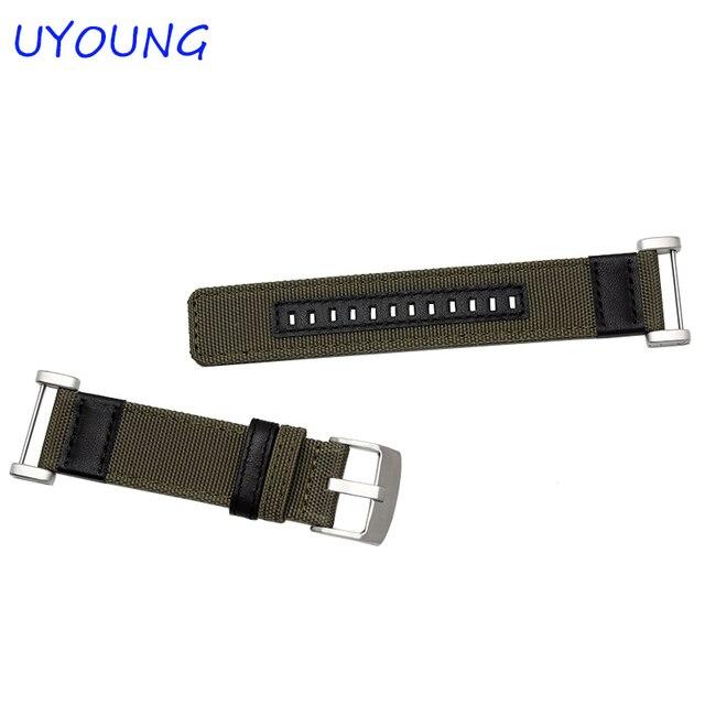 Nouveautés qualité Jeep Nylon bracelet de montre 24 MM pour Suunto CORE pour hommes montres intelligentes accessoires pour essentiel