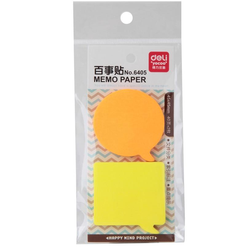 3 Kind Memo Pads Stickers Zelfklevende Zelfklevende Memoblaadjes Elk - Notitieblokken en schrijfblokken bedrukken - Foto 3