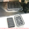 For Vw Sagitar CC Passat Magotan Golf Touran Audi Skoda Octavia Car Cabin Engine Air Filter Cleaner Durable Accessories Supplies