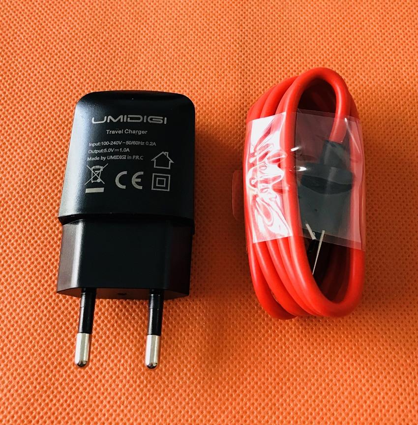 D'origine Chargeur de Voyage UE Plug Adaptateur + USB Câble pour UMIDIGI C NOTE 2 MTK6750T Octa Core 5.5 Pouce FHD Livraison gratuite