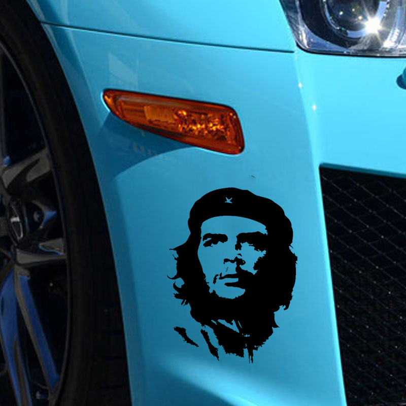 HotMeiNi Car Sticker Jdm styling Ernesto guevara DE la serna Rear Windshield Truck Body Decal Waterproof Hot Sale 11.3*15.3cm